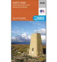 Wanderkarten Britische Inseln OS Explorer Map 468 Großbritannien - Shetland - Mainland North East 1:25.000 Ordnance Survey
