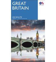 Straßenkarten OS Route Map Großbritannien - Great Britain / Großbritannien 1:550.000 Ordnance Survey