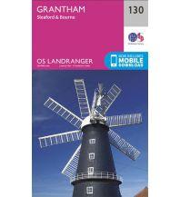 Wanderkarten Britische Inseln OS Landranger Map 130 Großbritannien - Grantham 1:50.000 Ordnance Survey