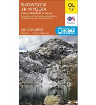 Wanderkarten Wales OS Leisure Explorer Map OL 17, Snowdon/Yr Wddfa 1:25.000 Ordnance Survey