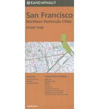 Stadtpläne Rand McNally - San Francisco & Northern Peninsula Cities Rand McNally