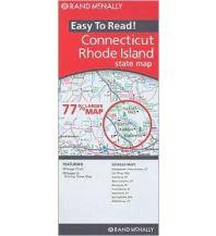 Straßenkarten Rand McNally State Map - Connecticut & Rhode Island Rand McNally