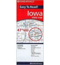 Straßenkarten Rand McNally Easy to Read - Iowa state map Rand McNally