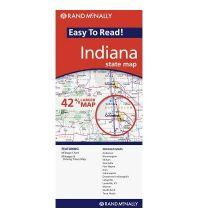 Straßenkarten Rand McNally State Map - Indiana Rand McNally