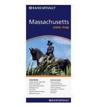 Straßenkarten Rand McNally State Map - Massachusetts Rand McNally