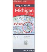 Straßenkarten Rand McNally State Map - Michigan Rand McNally