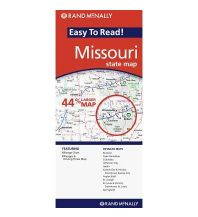 Straßenkarten Rand McNally State Map - Missouri Rand McNally