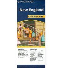 Straßenkarten Rand McNally Regional Map - New England Rand McNally