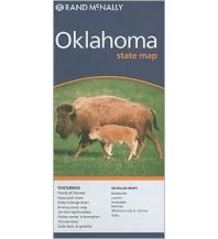 Straßenkarten Rand McNally State Map - Oklahoma Rand McNally