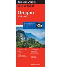 Straßenkarten Rand McNally State Map - Oregon Rand McNally