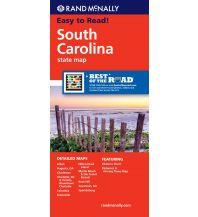 Straßenkarten Rand McNally State Map - South Carolina Rand McNally