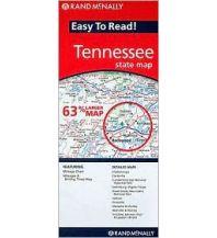 Straßenkarten Rand McNally Easy to Read State Map - Tennessee Rand McNally