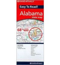 Straßenkarten Rand McNally State Map - Alabama Rand McNally