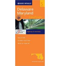 Straßenkarten Rand McNally State Map Easy to Fold - Delaware Maryland Rand McNally