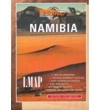 Straßenkarten Namibia InfoMap Let's Explore Africa - Namibia :1.1.400.000 Craenen Produktion