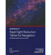 Ausbildung und Praxis Rapid Sight Reduction Tables Volume 3 The UK Hydrographic Office