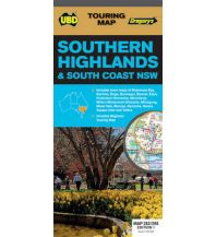 Wanderkarten UBD Gregory's Touring Map Australien - Southern Highlands and South Coast New South Wales 1:25.000 Craenen Produktion