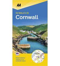 Wanderführer AA 50 walks in Cornwall AA Publishing