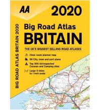 Reise- und Straßenatlanten AA Big Road Atlas 2020 - Britain 1:190.000 AA Publishing