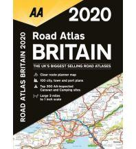 Reise- und Straßenatlanten AA Road Altas 2020 - Britain 1:200.000 AA Publishing