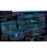 Astronomie National Geographic Poster laminated - The Universe National Geographic Society Maps