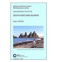 Straßenkarten British Antarctic Survey Sheets 14A & 14B / folded - South Shetland Islands 1:200.000 British Antarctic Survey