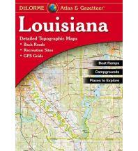 Reise- und Straßenatlanten DeLorme Atlas Gazetteer - Louisiana  1:184.000 DeLorme Mapping Inc.