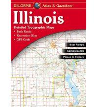 Reise- und Straßenatlanten DeLorme Atlas Gazetteer - Illinois DeLorme Mapping Inc.