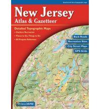 Reise- und Straßenatlanten Delorme Atlas Gazetteer - New Jersey 1:76.000 DeLorme Mapping Inc.