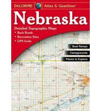 Reise- und Straßenatlanten DeLorme Atlas Gazetteer - Nebraska 1:203.000 DeLorme Mapping Inc.