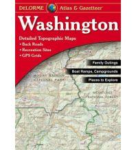 Reise- und Straßenatlanten DeLorme Atlas Gazetteer - Washington 1:150.000 DeLorme Mapping Inc.