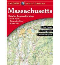 Reise- und Straßenatlanten DeLorme Atlas Gazetteer - Massachusetts 1:82.000 DeLorme Mapping Inc.