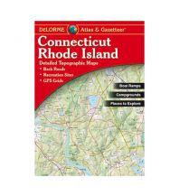 Reise- und Straßenatlanten DeLorme Atlas Gazetteer - Connecticut - Rhode Island DeLorme Mapping Inc.