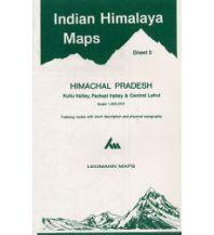 Wanderkarten Himalaya Leomann Indian Himalaya Map 5, Himachal Pradesh 1:200.000 Leomann Maps Ltd.