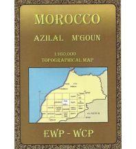 Wanderkarten Marokko Morocco Azilal and M'Goun 1:160.000 EWP
