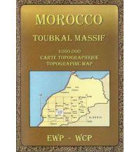 Wanderkarten Marokko Morocco Toubkal Massif 1:160.000 EWP