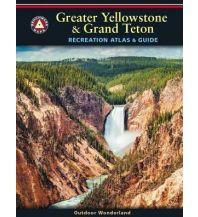 Wanderkarten Benchmark Maps Recreation Atlas & Guide USA - Greater Yellowstone & Grand Teton 1:100.000 Benchmark
