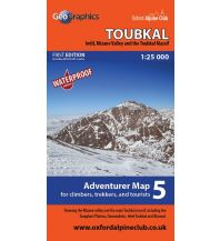 Wanderkarten Marokko OAC Adventure Map 5, Toubkal 1:25.000 Oxford Alpine Club