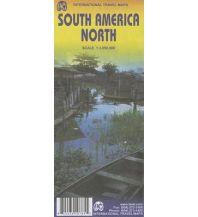Straßenkarten ITMB Travel Map - South America North 1:3.850.000 ITMB International Travel Maps