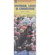 Straßenkarten ITMB Travel Map - Vietnam, Laos, Kambodscha 1:1.250.000 ITMB International Travel Maps