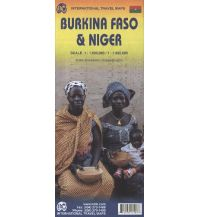 Straßenkarten Burkina Faso & Niger ITMB International Travel Maps