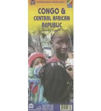 Straßenkarten Congo & Central African Republic (Kongo) 1:2.000.000 ITMB International Travel Maps