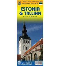 Straßenkarten Baltikum ITMB Travel Map - Estonia & Tallinn 1:400.000/1:8.000 ITMB International Travel Maps