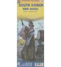 Straßenkarten Asien South Korea and Seoul ITMB International Travel Maps