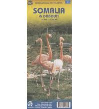 Straßenkarten ITMB Travel Map - Somalia & Djibouti 1:1.700.000 ITMB International Travel Maps