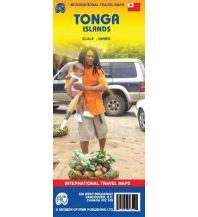 Straßenkarten Australien - Ozeanien Tonga ITMB International Travel Maps