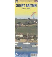 Straßenkarten ITMB Travel Map - Great Britain 1:720.000 ITMB International Travel Maps