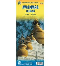 Straßenkarten ITMB Travel Map - Myanmar (Burma) 1:1.350.000 ITMB International Travel Maps