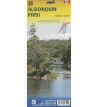 Wanderkarten Nord- und Mittelamerika Algonquin Park ITMB International Travel Maps