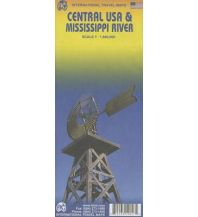 Straßenkarten Central USA & Mississippi River ITMB International Travel Maps